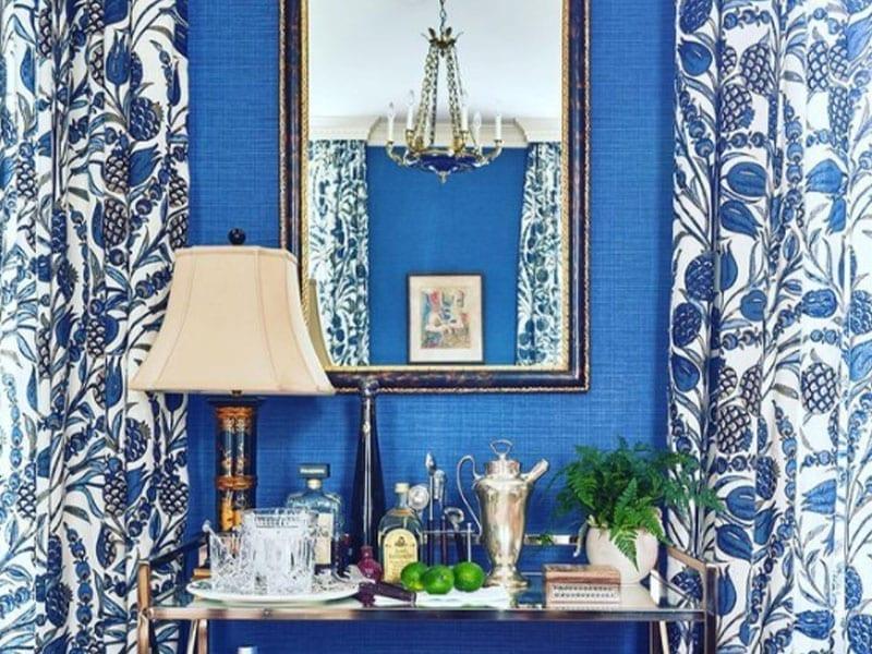 Blue Room Design by Amal Kapen