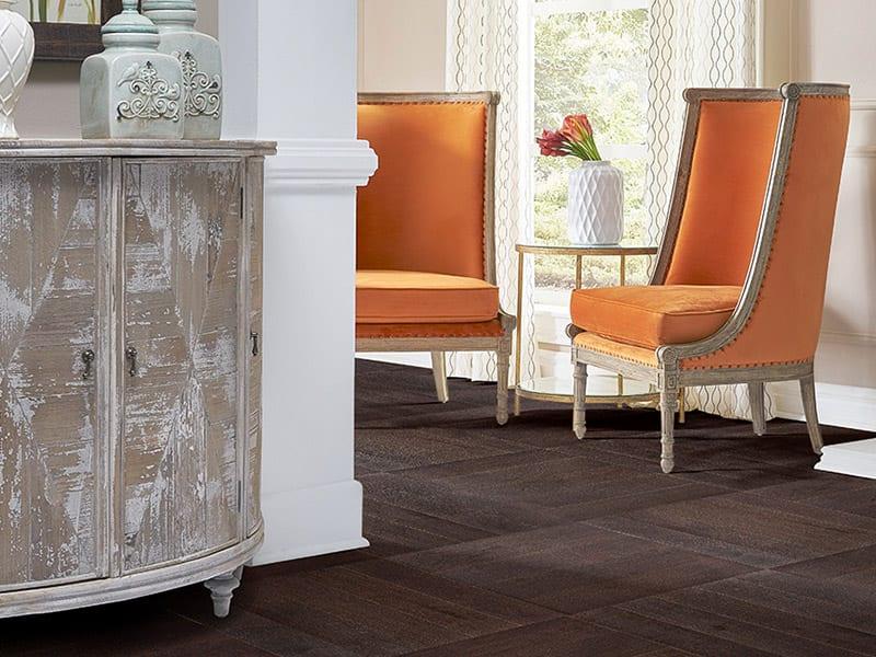 Product: French Oak Pattern Plank- Chocolat Noir