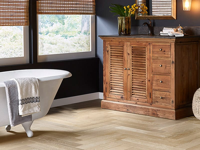 Product: French Oak Pattern Plank- Crème Brulee