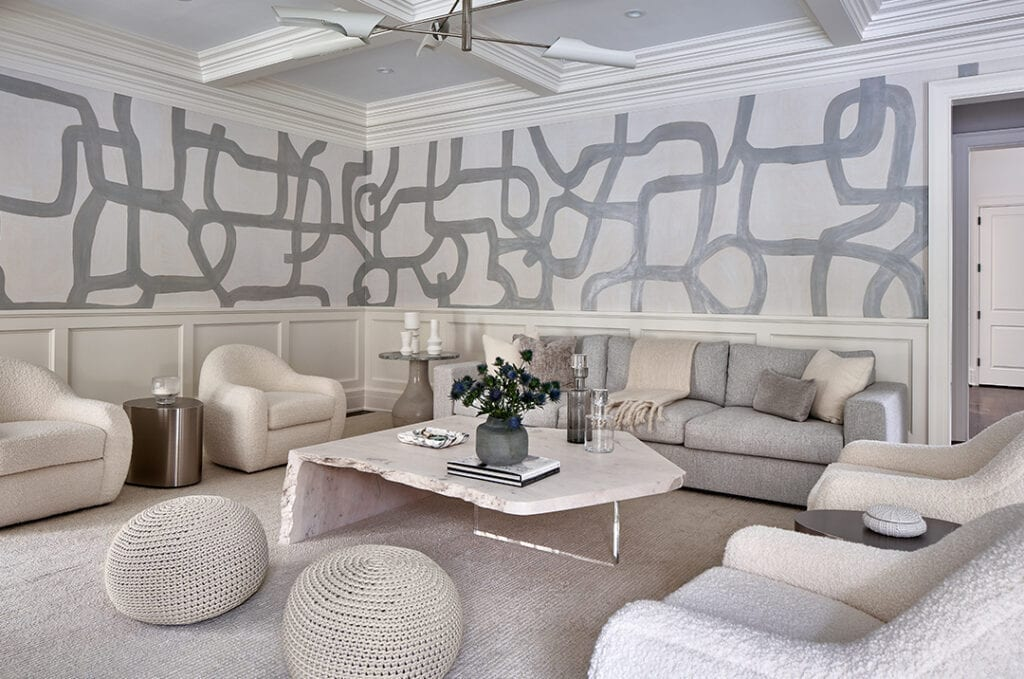 Living Room by Vanessa Rome Interiors