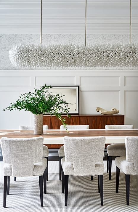 Dining Room by Vanessa Rome Interiors