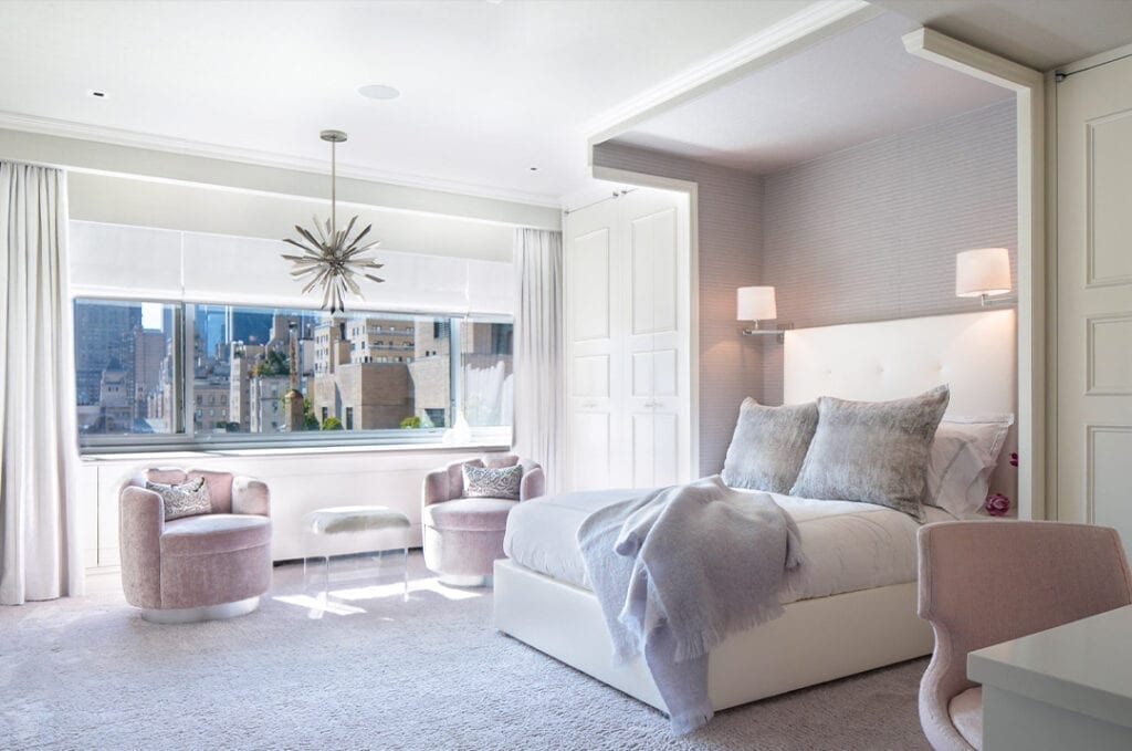 Neutral Bedroom by Vanessa Rome Interiors