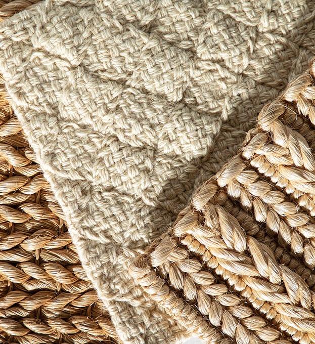 Abaca Wool and Jute
