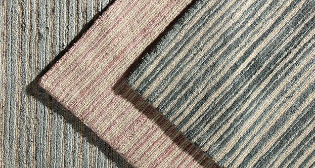 Wool and Silk Stripe